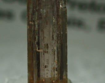 BiColor 'Imperial' Topaz crystal, Brazil, Mineral Specimen for Sale