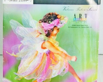 Simplicity 0691 Sewing Pattern Halloween Fairy Princess Costume Child Toddler Size 3 4 5 6 7 8 Uncut