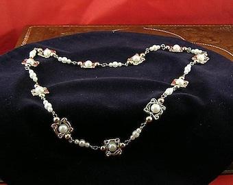 Pearl Hat Band - Tudor - Elizabethan - Renaissance Hatband