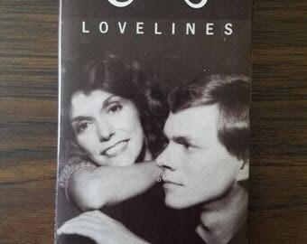 The Carpenters Lovelines Vintage Cassette Tape 1989