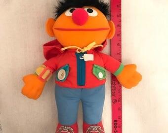 Vintage Playskool Sesame Street Ernie Toy