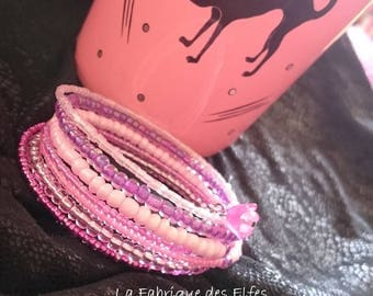 SHADES of pink Cuff Bracelet gift