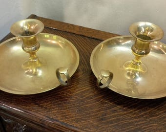 Brass Candlesticks Chamber Candlestick Holders