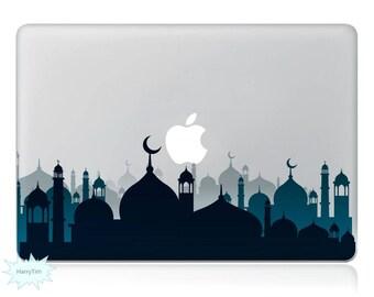 Buildings Macbook Decal Mac Stickers Macbook Decals Macbook Stickers Apple Decal Mac Decal Stickers Laptop Decal