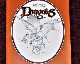 Lela Dowling Art Portfolio #802 Dragons Very Collectible