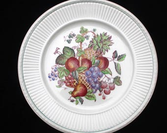 Wedgwood Wentworth Edme Multicolour 10.5 inch Dinner or Display Plate | Replacement | Two available