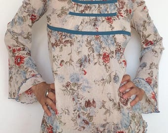 Floral shirt boohoo style