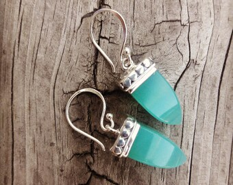 Gorgeous Green Jade,beautiful earrings, gift for Her