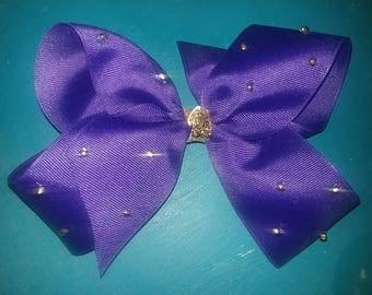 Jojo Bow inspired 4 loop purple bow Jojo Siwa