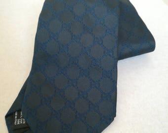 Gucci Tie Blue Vintage Tie