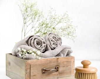 Organic Linen Bath Towels