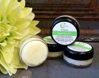 All-Natural Sugar Lip Polish