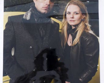 POSTER Once Upon A Time - Emma Swan and Jefferson