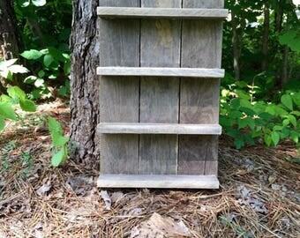 Essential Oil Shelf, Essential Oil Storage, Oil Storage, reclaimed wood