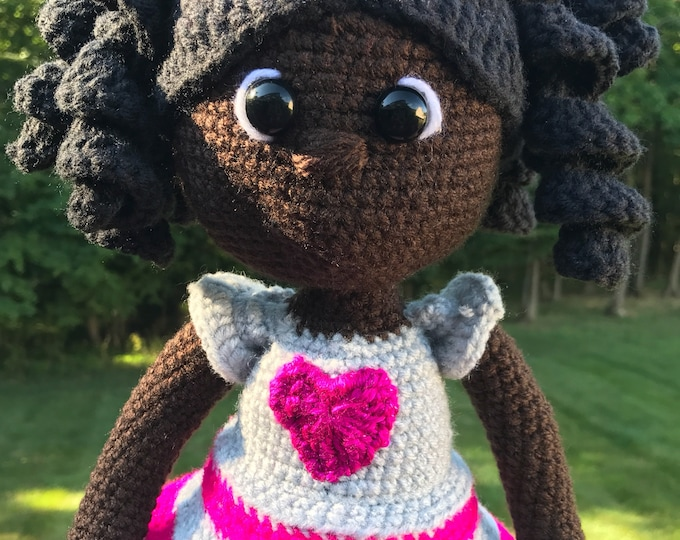 Featured listing image: African American Crochet Doll