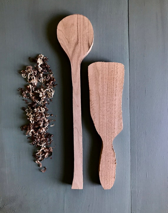 blanks, set of two, large spoon and spatula