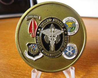 United States Special Operations Command SOCOM Command Surgeon Challenge Coin #3705