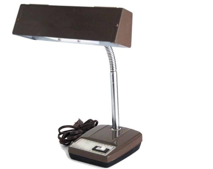 Mid Century Goose Neck Desk Lamp