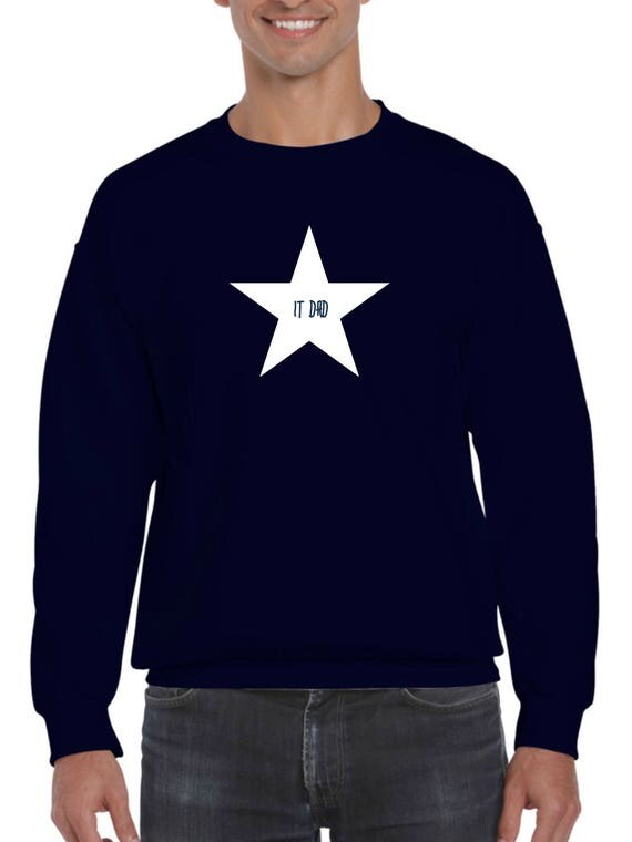 Men sweater IT DAD in a STAR