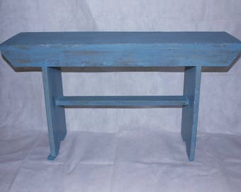 SOLD !!!! ***Entryway Bench, Primitive Bench, Rustic Bench, Farmhouse Bench