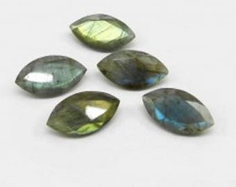 20-P Wholesale Lot Of  Blue Flashy Labradorite marquise Cut faceted Loose Gemstone with free shipping