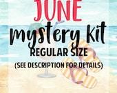 June Mystery Kit   REGULAR Size June 2018 Mystery Box   MB031-R