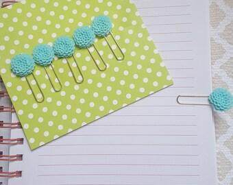 Blue Peony paperclip