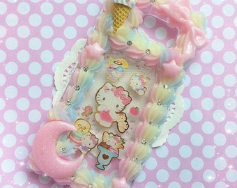 Galaxy S6 Edge Plus Kawaii Decoden Case