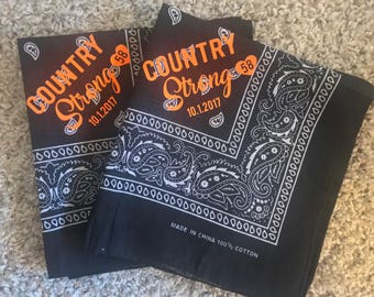Route 91 Country Strong Bandana