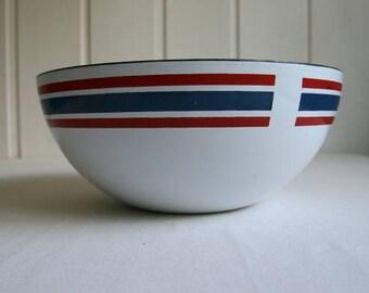 Cathrineholm, Norway Club Celebration enamel bowl