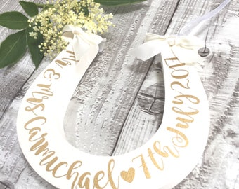 Wedding Bridal Horseshoe