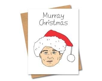 Bill Murray Christmas Card - Pun