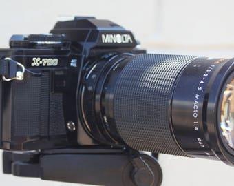 MInolta X-700 with Kiron 28-105mm lens
