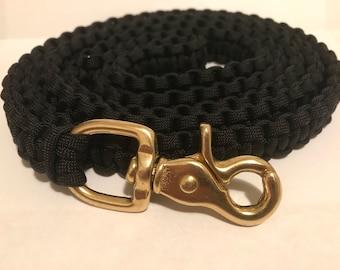 Custom Cobra Weave Paracord Dog Leash