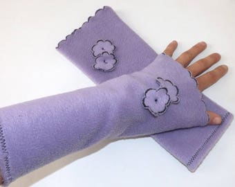 Arm warmers long fairy fairy soft and warm winter