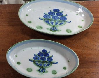 Set of M.A. Hadley serving Platters/Bowls