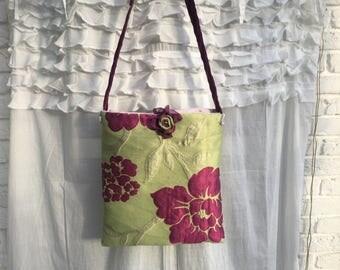 Bag, fabric bag, bag, shabby, vintage, bohemian, romance