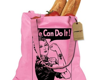 Rosie The Riveter  Shopping Tote Bag