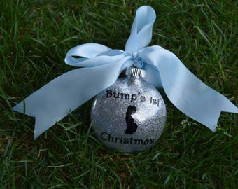 Bump's First Christmas Ornament, Baby's First Christmas Ornament, First Christmas Ornament