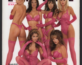 Mature Vintage Playboy Special Edition Mens Girlie Pinup Magazine : Playboy's Book Of Lingerie January/February 1997