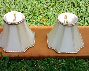 57.  Two (2) Matching Small Lampshade