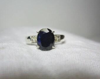 blue sapphire diamond ring, blue sapphire ring, diamond ring, WOOW