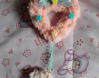 Fluffy Heart (pnk)