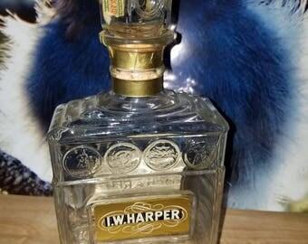 Vintage  whiskey bottles