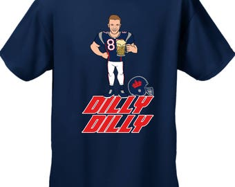 Dilly Dilly Tshirt,Gronk,Patriots, Silly Tshirt, Dilly Dilly New England Tshirt, Patriots Sweatshirt, Beer Shirt
