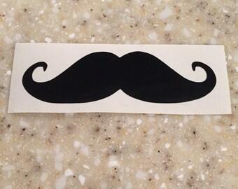 Mustache Vinyl Decal