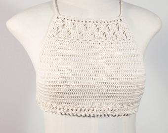 Crochet Top, Bikinitop, Boho, Festival