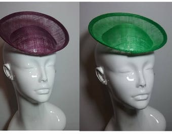 Sinamay Hat Fascinator Base Millinery Crafts Making Material Newest!