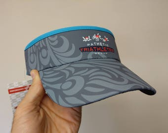 Official 'Pathetic Triathletes Group' Visor