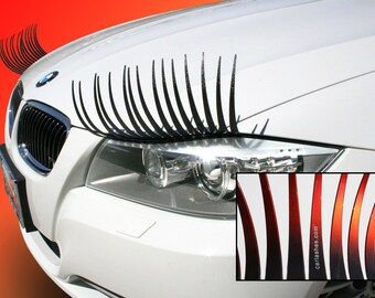 CarLashes OMBRE CANDY RED